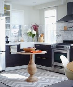 Mid Century Kitchen - transitional - Kitchen - Other Metro - Sabrina Linn Design