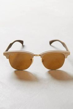 Clubmaster Wood Sunglasses by Ray-Ban