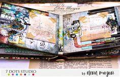 Elena Morgun: 7 Dots Studio masculine mini album | Мужской мини-альбом