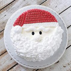 "Such a jolly santa cake! Regram from @thepartybebe - ""Christmas cake.... @ivenoven style! ❤️ You are looking so handsome, Mr Claus! Wishing you a sweet and happy day xx"" #cakes #cakedecorating #cakesofinstagram #xmascake #santaclaus #santacake #huffposttaste #huffingtonpost #buzzfeast #foodstagram #thekitchn #christmascake #foodwinewomen #foodstyling #buttercream #food52 #f52grams #buttercream #beautifulcuisines #feedfeed #sweettooth #bhgfood #foodgawker #tastespotting #onthetable #xma..."