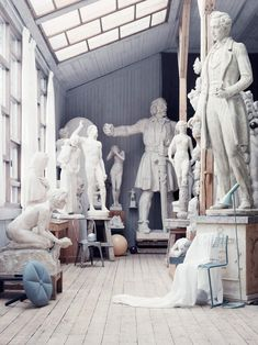 Philip-Karlberg--Carl Eldh Studio Museum in Stockholm