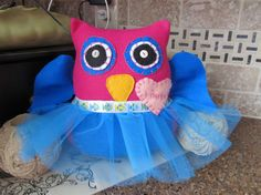 tutuPersonalized Owl Pillow Owl Nursery by shucksandshadoodles, $25.00