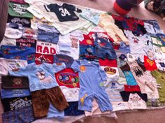 Made to order baby boy quilt  by krickyskreations on Etsy, $175.00
