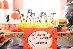 Halloween Birthday Party - Design Dazzle