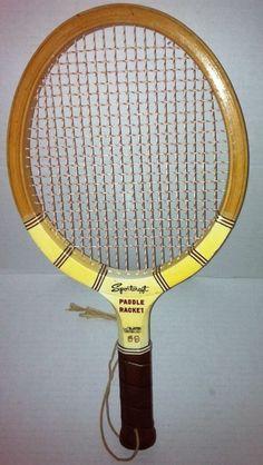 Sportcraft Paddle Racket  SKU#SPR99 #Sportcraft