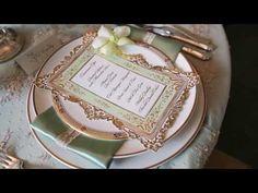 Downton Abbey styled wedding shoot by White Avenue & Karen Tran - YouTube