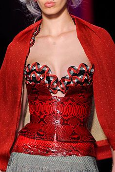 Jean Paul Gaultier Couture Details - contemporary but I don't like it
