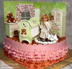Торт ангел для малыша