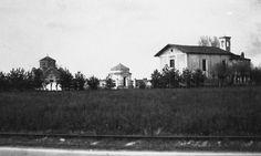 Vighignolo San Sebastiano e cimitero anni '30 | Settimo Milanese