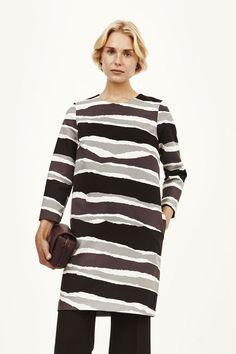 Marimekko Tola Dress Coal/Grey