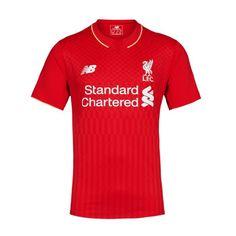 Nova camisa do Liverpool da New Balance - http://colecaodecamisas.com/camisa-liverpool-new-balance-2015-2016/ #colecaodecamisas #Liverpool, #Newbalance, #Premierleague2015