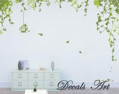 Vines Vinyl wall sticker wall decal tree decals wall by DecalsArt, $49.00