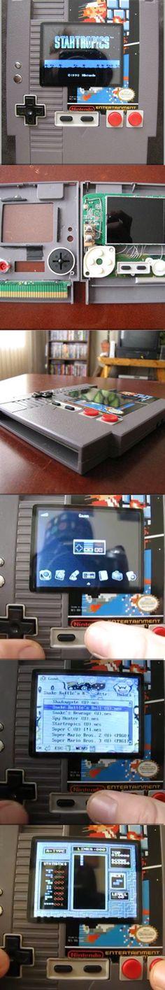 NES cartridge emulator  NES custom  NES mod
