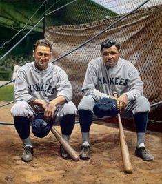 New York Yankees Baseball, Baseball Art, Baseball Photos, Basketball Pictures, Ny Yankees, Sports Photos, Baseball Movies, Baseball Stuff, Babe Ruth