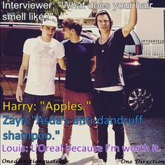 A+ to interviewer for knowing what questions to truly ask 1D ;)