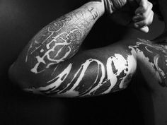 Fuck Yeah Blackwork Tattoos, check out this blog some awesome artwork