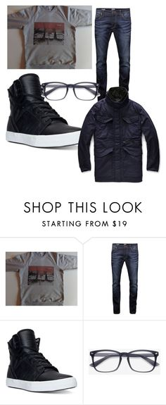 """""""Fall"""" by allpeoplewilltravel on Polyvore featuring Jack & Jones, Supra, G-Star Raw, men's fashion and menswear"""