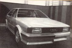 Audi Quattro - from '77, EA 262 Full-size design proposal for the Coupe/Quattro
