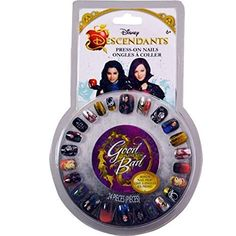 Disney Descendants Press-On Nails with Mal