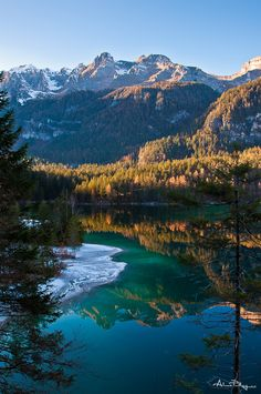 Tovel Lake by Alessio Pellegrini, via 500px