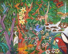 South American Art | Indigo Arts Gallery | Art from Latin America and the Caribbean, Fletes Cruz art from Nicaragua.