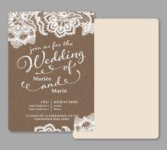 Faire-part de mariage, modèles de Faire-part de mariage, personnalisation de Faire-part de mariage | Vistaprint