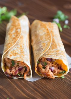My family loves these Crispy BBQ Chicken Wraps, and I love that they're such an easy dinner to make! Think all of the yummy, cheesy goodness of a BBQ chicken pizza, toasted in a crispy wrap. Who needs a super easy dinner idea for their busy week? I've got you covered with these BBQ Chicken …