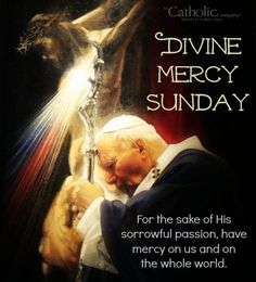 St. John Paul II and Divine Mercy.  The Divine Mercy Novena is great comfort to me