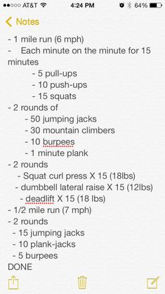 Crossfit workout I did last week! I am not completely sure what the second bulletin means, but I can make something out of it! (: A HUGE thank you to whoever shared this! Crossfit Games, Crossfit Workout Plan, Emom Workout, Track Workout, Fitness Tips, Fitness Motivation, Health Fitness, Lifting Motivation, Rogue Fitness