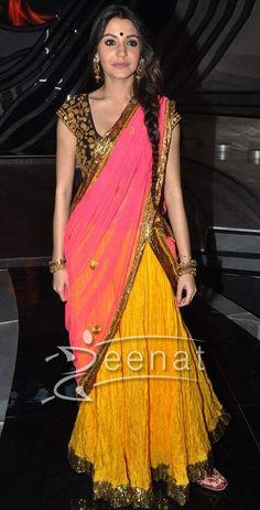 Anushka-Sharma-Saree-Style3 | Zeenat Style