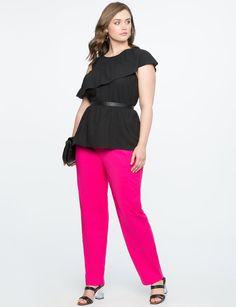 2e0af31b6f0ec Lands  End Women s Plus Size Mid Rise Straight Leg Corduroy Pants ...