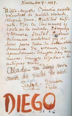 ésta carta no es auténtica de Frida. La fecha es de noviembre de 1959 y ella murió en el año 1954
