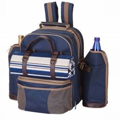 Found it at Wayfair - Tremont 4 Person Picnic Backpack