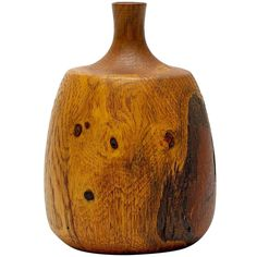 Oak Vase by Rude Osolnik   From a unique collection of antique and modern vases at http://www.1stdibs.com/furniture/dining-entertaining/vases/