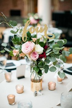 Embellish your centerpieces with these beautiful handmade table numbers. They tastefully add sparkle to any special event such as weddings, bridal showers, wedding showers, and birthday parties. ❤ Colour: Antique Gold In the photos above, the antique gold table number is the number