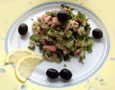 Салат из тунца и огурца