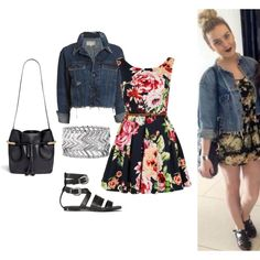 Inspired Perrie Edwards by imkatherineb on Polyvore featuring moda, rag & bone/JEAN, AllSaints, Chloé, Express, Louche and Kimchi Blue