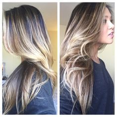 Salon: Chris Mcmillan Salon Colorist: Gaby Client IG: samanthaguarderas. #hair #highlights