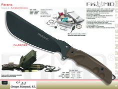 PARANG CUCHILLO TACTICO - Fox Military