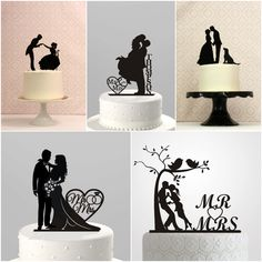 6 Trending Wedding Cake Toppers — Ma Maison