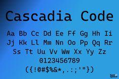 Cascadia Code Microsoft Update, Font Software, Writing Code, Output Device, Text Editor, Microsoft Corporation, Font Names, Microsoft Windows, Fonts