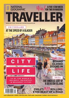Free Download National Geographic Traveller (UK) #Magazine - March 2017. City life: From the pop-up store revolution and the gin-bar renaissance to the High Line bandwagon, the dust never settles on the world's greatest cities. Here's what's in store for you #travel #nationalgeographic #nationalgeographictraveller #travelmagazine #wanderlust #condenast