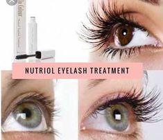 This eyelash treatment gel is created to help your eyelashes grow long, strong and healthy. Apply this gel before your mascara daily and watch yours lashes transform before your eyes! — pairs with the lash and curl mascara Nu Skin, Make Eyelashes Grow, Long Thick Eyelashes, Longer Eyelashes, Mink Eyelashes, Eyelash Serum, Eyelash Growth, Dry Skin Around Eyes, Pregnancy