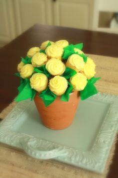 DIY: Cupcake Flower Pot Tutorial
