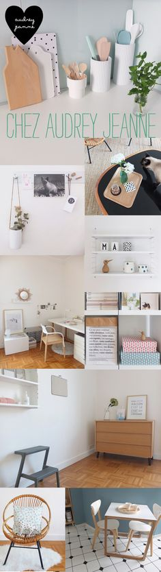 Home Sweet Home : chez Audrey Jeanne