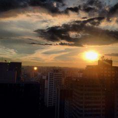 Sunset Paulista. #essepe #saopaulo #sampa