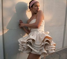 Lukrecja apron by COOKie - Dress in Lukrecja, this subtle response to ravenous hunger for feminine thighs and other culinary raptures. This apron requires a moment of care How To Make Breakfast, Fun Cookies, Style And Grace, Pavlova, New Years Eve Party, That Way, Compliments, Apron, Thighs