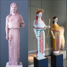 Ultraviolet Light Reveals How Ancient Greek Statues Really Looked Antique Greece To Color