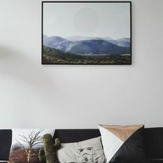 Landscape photography art print and handmade pillows and cushions | Do Not Iron