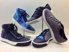 Our collection of men's Lanvin sneakers for spring is growing!